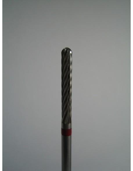 Frez z węglika spiekanego (czerwony) 1szt.