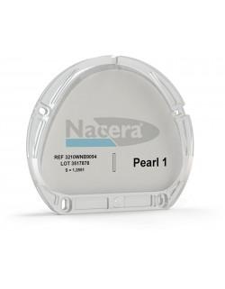 Nacera® Pearl 1 (highly translucent) white  16 mm