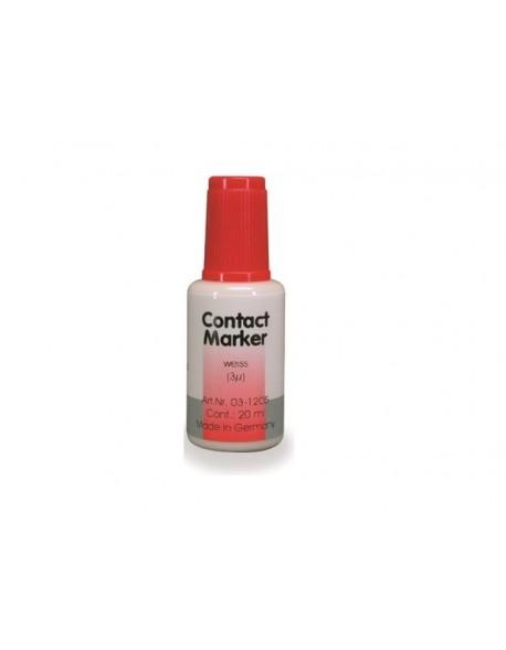 Contact Marker - kalka w płynie biała