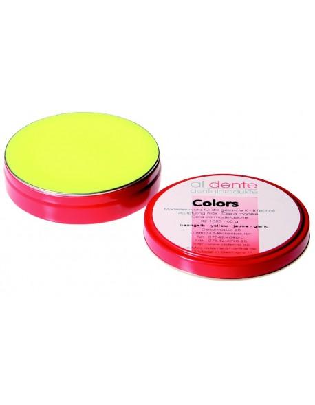 Colors - wosk neonowy żółty do koron i mostów