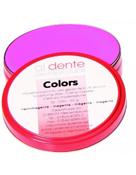 Colors - wosk neonowy różowy do koron i mostów