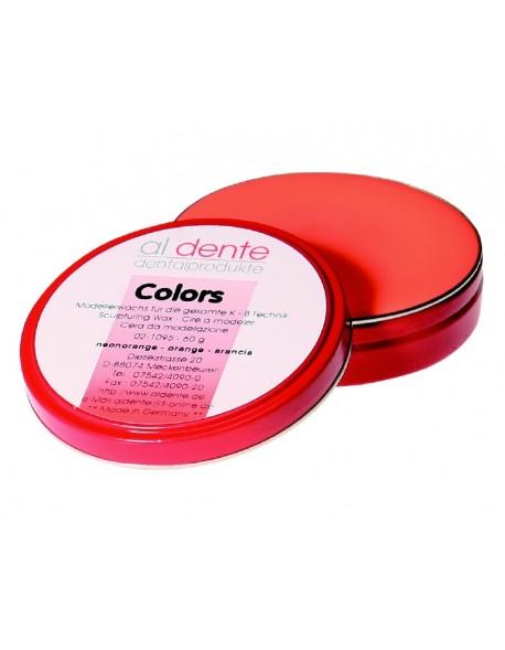 Colors - wosk neonowy pomarańczowy do koron i mostów