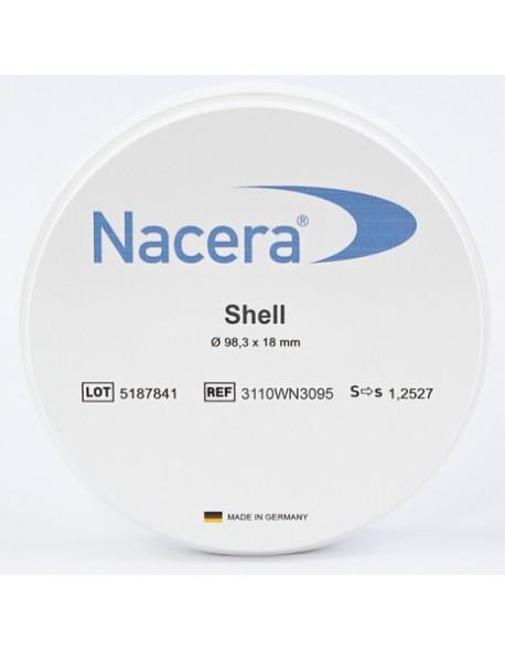Nacera® Shell 1 (white)