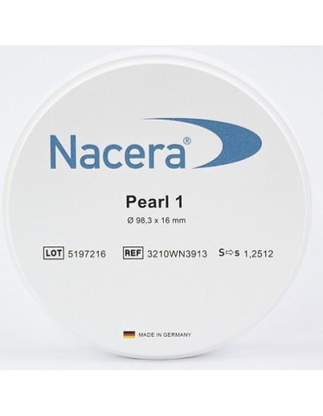 Nacera® Pearl 1 (white translucent)  98.3 mm